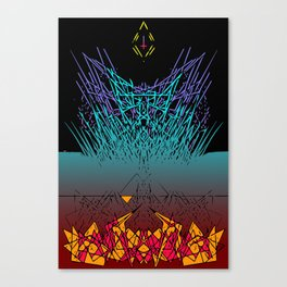 Midwest Hex Canvas Print