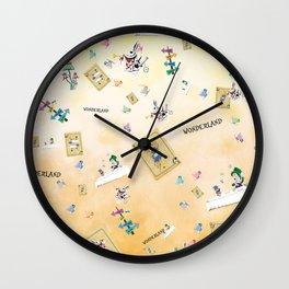 Wonderland Pl Wall Clock