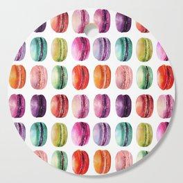 macaron lollipops Cutting Board