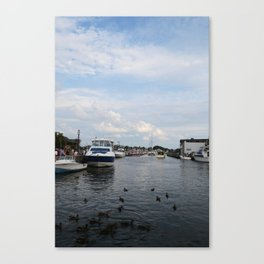 Ducking Annapolis Canvas Print