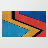 road Area & Throw Rugs featuring Road by Liall Linz