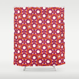 Sixties Pattern Shower Curtain