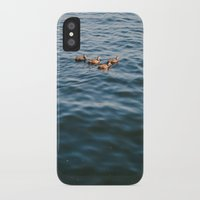ducks iPhone & iPod Cases featuring ducks. by Justine Montigny
