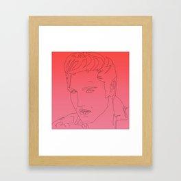 Heart Breaker Framed Art Print