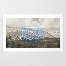 Tunnel Mountain Art Print