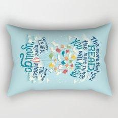 Go places Rectangular Pillow