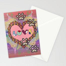 Huellas de amor Stationery Cards