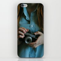 photographer iPhone & iPod Skins featuring Photographer by Jelena Pejovic