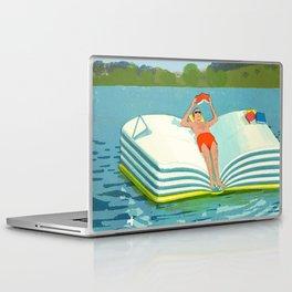 Summer Reading on the Lake Laptop & iPad Skin