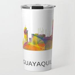Guayaquil Ecuador Skyline WB1 Travel Mug