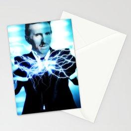 Nikola Tesla Lightning Stationery Cards