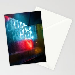 Love of Pizza (Color) Stationery Cards