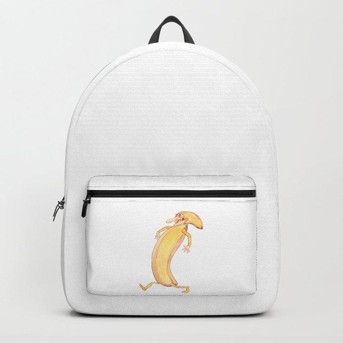 Mr Banana is going bananas Backpack