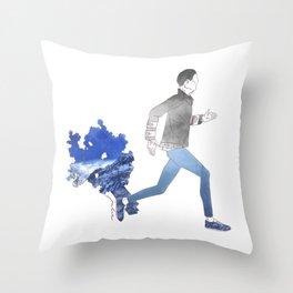 Moving art  Throw Pillow