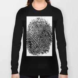Fingerprint Long Sleeve T-shirt