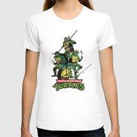 tmnt T-shirts featuring TMNT by Neal Julian