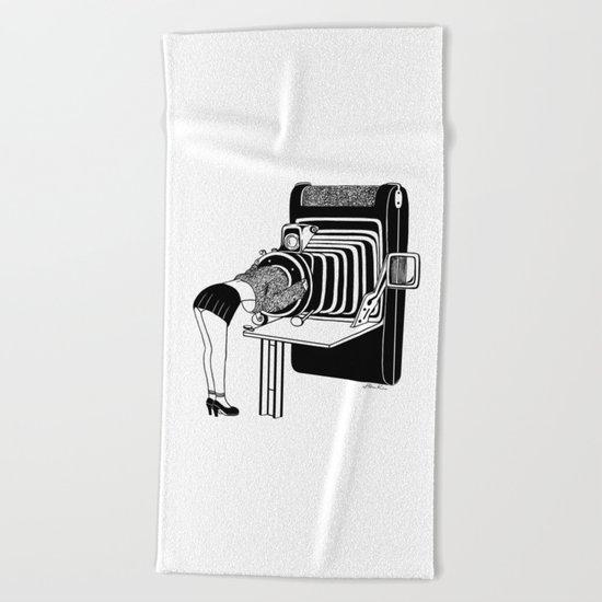 Selfie Beach Towel