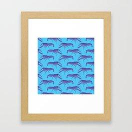 The Hairy Marron Framed Art Print