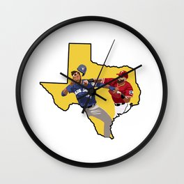 Dont Mess With Texas Wall Clock