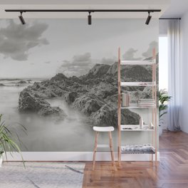 Highlighted Seascape Wall Mural