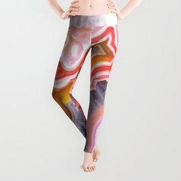 Agate Gem slice Leggings