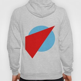 Compass: Blue and Red Hoody