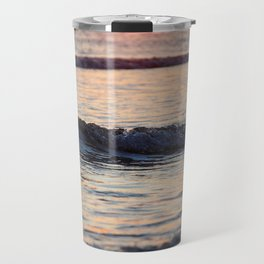 Color of the Waves Travel Mug