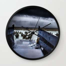 Men of the 16th Infantry Regiment Wall Clock