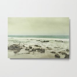 Release - California Coast Beach Modern Home Decor Metal Print