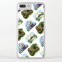 How the Animals Found Out Clear iPhone Case
