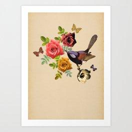 Song Bird 4 Art Print