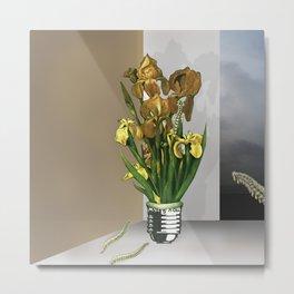 Das Licht der Pflanze Metal Print