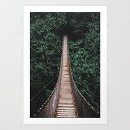 Lynn Valley, Vancouver Art Print