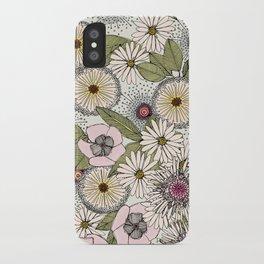 Australian garden chalk iPhone Case