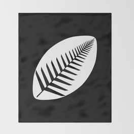 NZ Rugby Throw Blanket