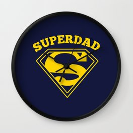 Superdad | Superhero Dad Gift Wall Clock