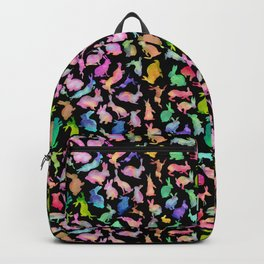Kissing Watercolor Bunnies Backpack