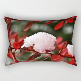 First Snow Rectangular Pillow