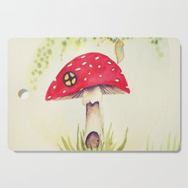 Toadstool  Cutting Board