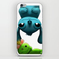 stitch iPhone & iPod Skins featuring Stitch  by KimiSukini
