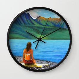 Epuyén Lake  Wall Clock