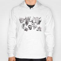 cows Hoodies featuring Cows by Rik Reimert