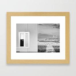 Hotel Aire de Bardenas Framed Art Print