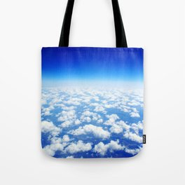 Looking Above the Clouds Tote Bag