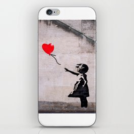 Banksy, Hope iPhone Skin