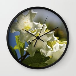 """Moonflower"" by ICA PAVON Wall Clock"