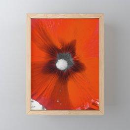 Red Petals Framed Mini Art Print