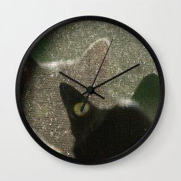 Cat Picatsso Wall Clock