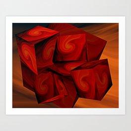 Cubist Art Print