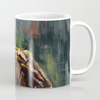 groot Mugs featuring I am Groot! by Wisesnail
